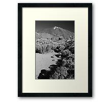 Mt Teide Framed Print