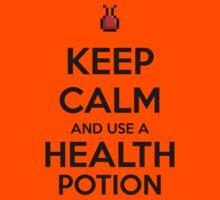 Keep Calm and use a Health Potion Kids Clothes
