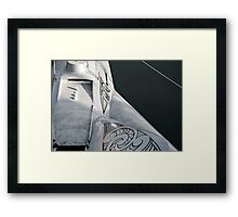 Earthrace Framed Print
