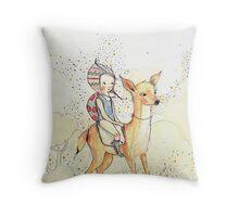 forestgirl Throw Pillow
