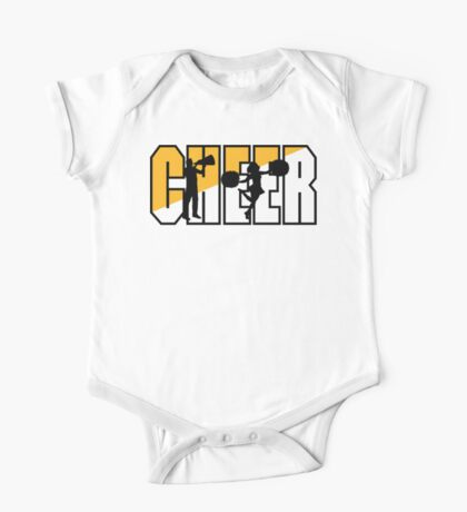 "Cheerleading ""CHEER"" One Piece - Short Sleeve"