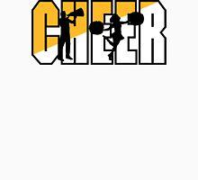 """Cheerleading """"CHEER"""" Womens Fitted T-Shirt"""