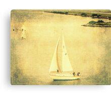Lazy Day Sailing 2 Canvas Print