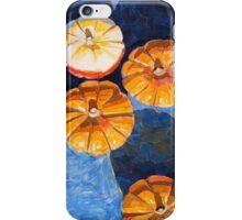 """Four pumpkins"" iPhone Case/Skin"