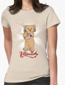 Bad Teddy Womens Fitted T-Shirt