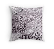 The In of the Out (cropped) Throw Pillow