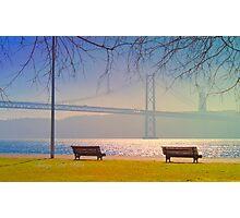 the bridge at 9.30 a.m. Photographic Print