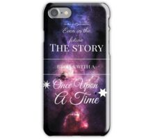 Once Upon a Time- The Lunar Chronicles- Marissa Meyer- Space Purple iPhone Case/Skin