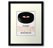 Rubber - A Film by Quentin Dupieux  Framed Print