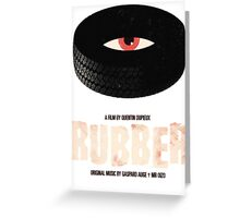 Rubber - A Film by Quentin Dupieux  Greeting Card