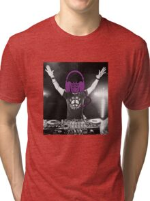 Dj Decepticon full Tri-blend T-Shirt