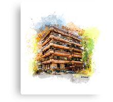 Athens architecture Canvas Print