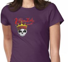 Crowned Skull 2 Womens Fitted T-Shirt