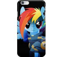 Warrior Rainbow Dash iPhone Case/Skin