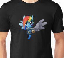 Warrior Rainbow Dash Unisex T-Shirt