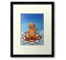 Buddha Baby Framed Print