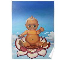 Buddha Baby Poster