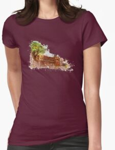 Piazza Venezia Rome Womens Fitted T-Shirt