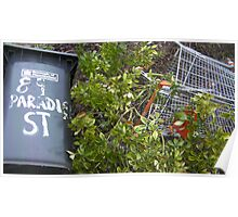 "89 ""Paradise"" Street Poster"