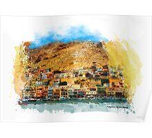 Kalymnos, Greek Island Poster