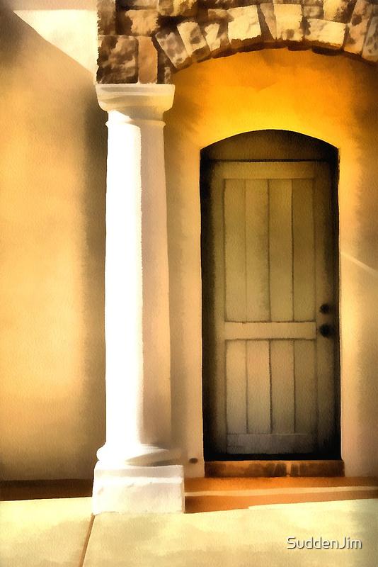 Stone, Stucco And Wood by SuddenJim