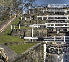 Bingley Five Rise Locks by andyj81