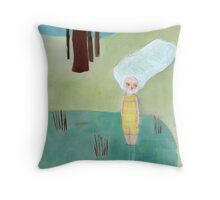 quilpo3 Throw Pillow