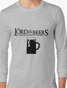 Lord of the Beers - Fellowship of the Beer Long Sleeve T-Shirt