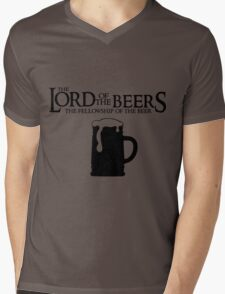 Lord of the Beers - Fellowship of the Beer Mens V-Neck T-Shirt