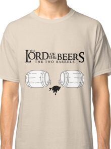 Lord of the Beers - The Two Barrels Classic T-Shirt