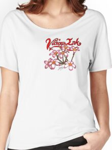 Frangipani Blossoms Women's Relaxed Fit T-Shirt