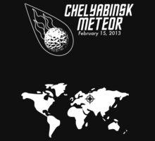 Chelyabinsk Meteor Strike by Samuel Sheats