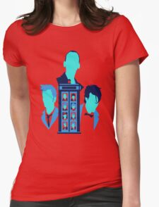 Tardis Blues Womens Fitted T-Shirt