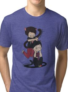Neko Dan&Phil Tri-blend T-Shirt