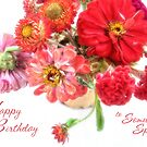 Bright Birthday Bouquet by LouiseK