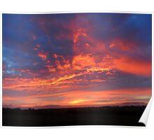 Cornwall: Sunrise at Trevose Head Poster