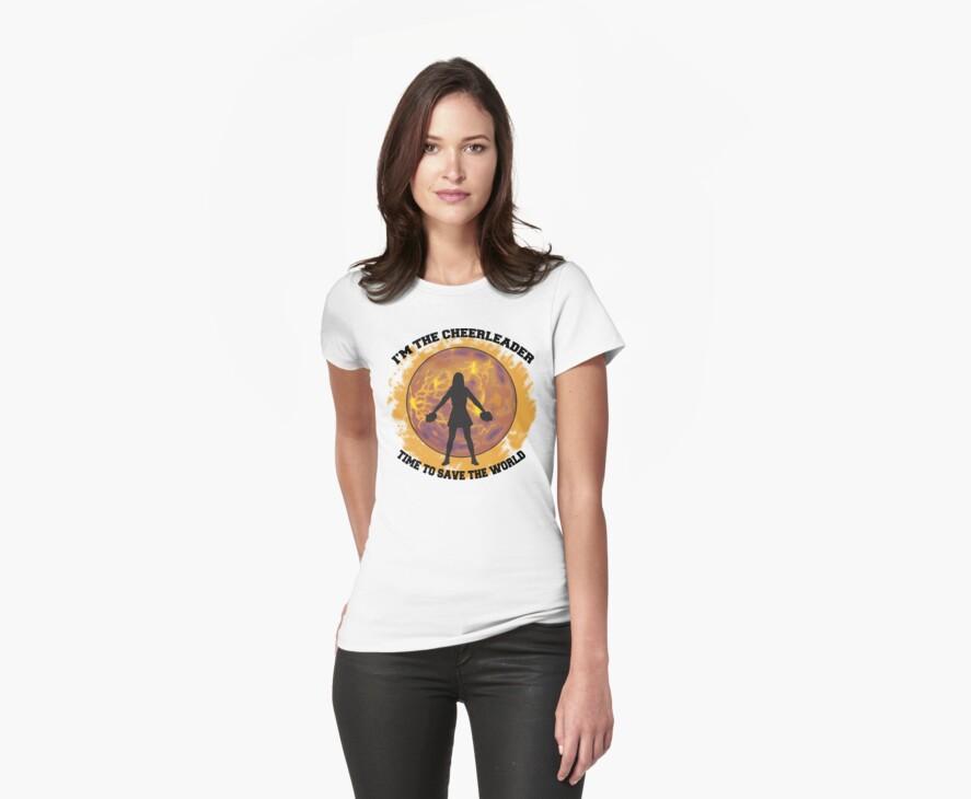Cheerleader by SportsT-Shirts