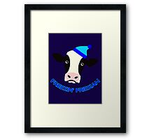 Freezin' Friesian Framed Print