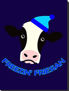 Freezin' Friesian by Barton Keyes