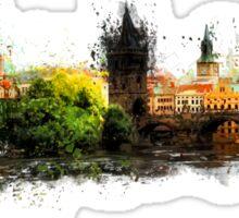 Prague panorame Sticker