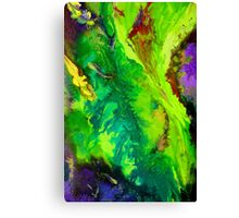 Contemporary abstract modern painting Canvas Print