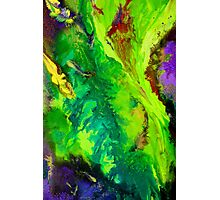 Contemporary abstract modern painting Photographic Print