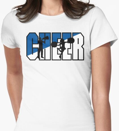 CHEER Womens Fitted T-Shirt