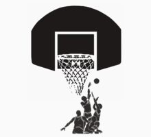 basketball t-shirt by parko