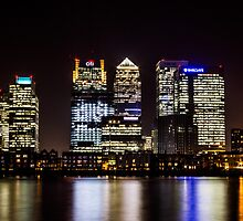 London City Skyline by Ian Hufton