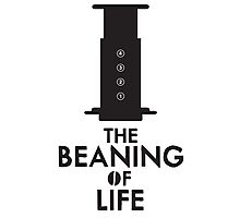 The Beaning of Life Photographic Print