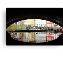 Reflection of Copenhagen Canvas Print