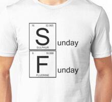 Sunday Funday- table of elements Unisex T-Shirt