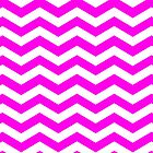 Pink and White Zig Zag Chevron Pattern Iphone and Ipod Cases by Clickcreations