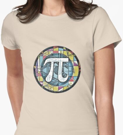 Pi Day Symbol 3 Womens Fitted T-Shirt